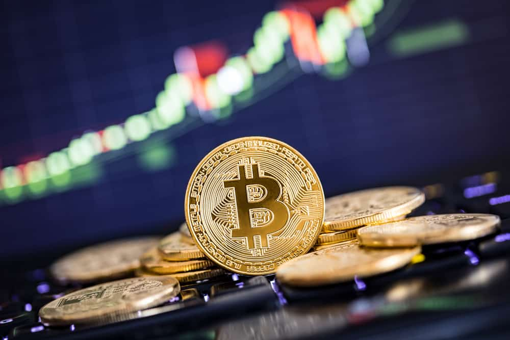 Bitcoins and other cryptocurrencies represent as digital money