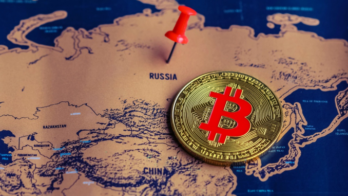 Cryptocurrency-Linked Bank Accounts in Russia May Be Frozen