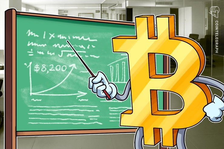 Bitcoin Touches $8,200, Gold Hits Its Highest Point Since April