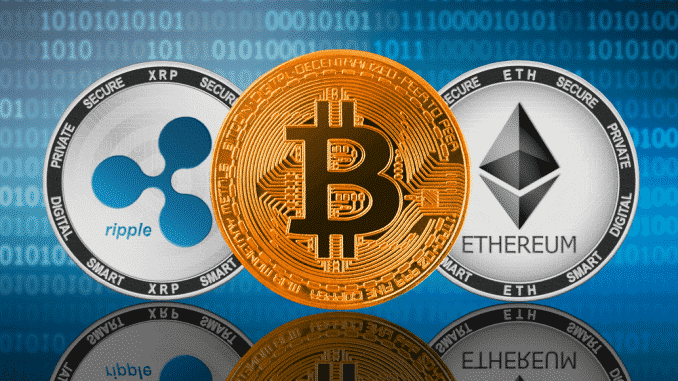 Ripple's XRP and Ethereum Fight for 2nd Place Behind Bitcoin In The Wake of a Bull Run