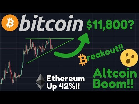 BITCOIN BREAKOUT??! $11,800?! | Ethereum Up 42%!! | WOW, BTC SHORTS JUST CRASHED 40%!!!