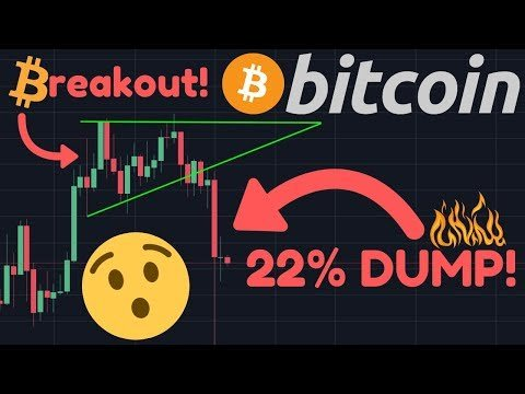 BITCOIN HUGE BREAKOUT!! 22% DUMP! | Was This The Blow-Off Top We Expected? | REACCUMULATION STARTS!!