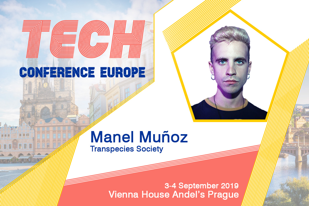 Cyborgs and Transpecies – Fireside Chat with Catalan cyborg artist, Manel Muñoz at TCE2019 Prague