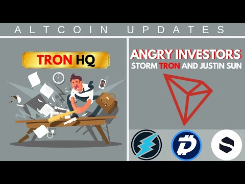 DRAMA: Angry Investors Storm TRON's HQ! EXCLUSIVE Stakenet Interview, BIG DigiByte News, ETN