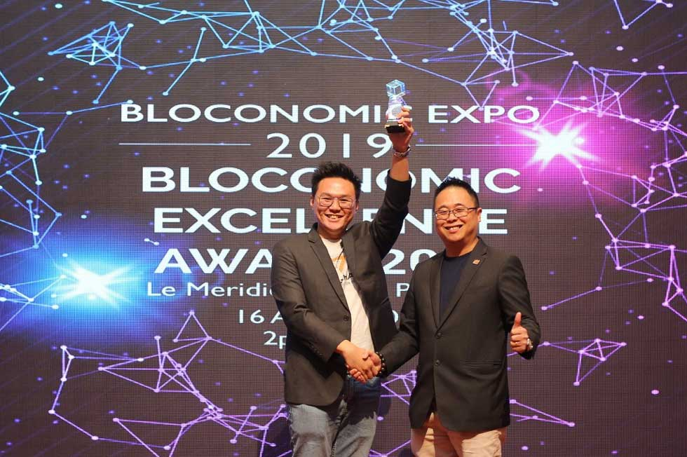 TriveAcademy Awarded the Bloconomic Excellence Award at the Bloconomic Expo 2019